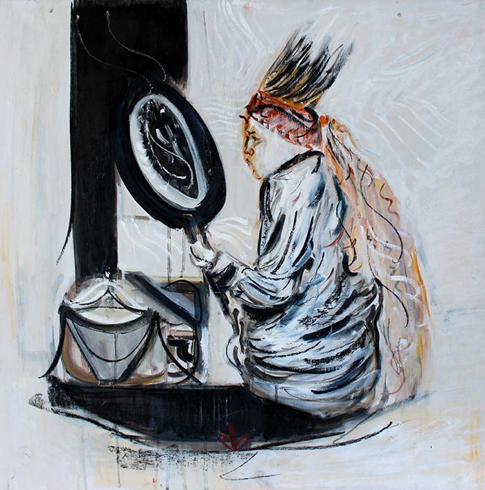 Alex Carletti Visionary Art Shaman