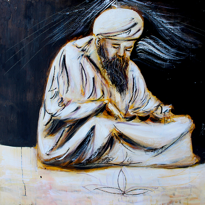 Alex Carletti Visionary Art Yogi Bhajan