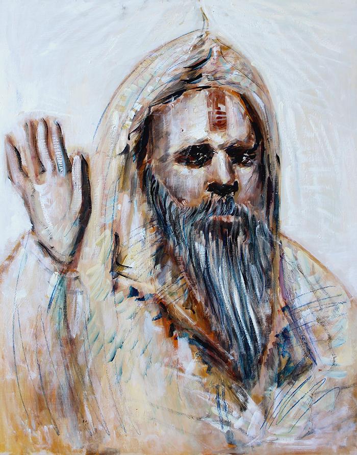 Alex Carletti Visionary Art Sadhu