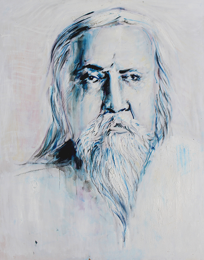 Alex Carletti Visionary Art Sri Aurobindo