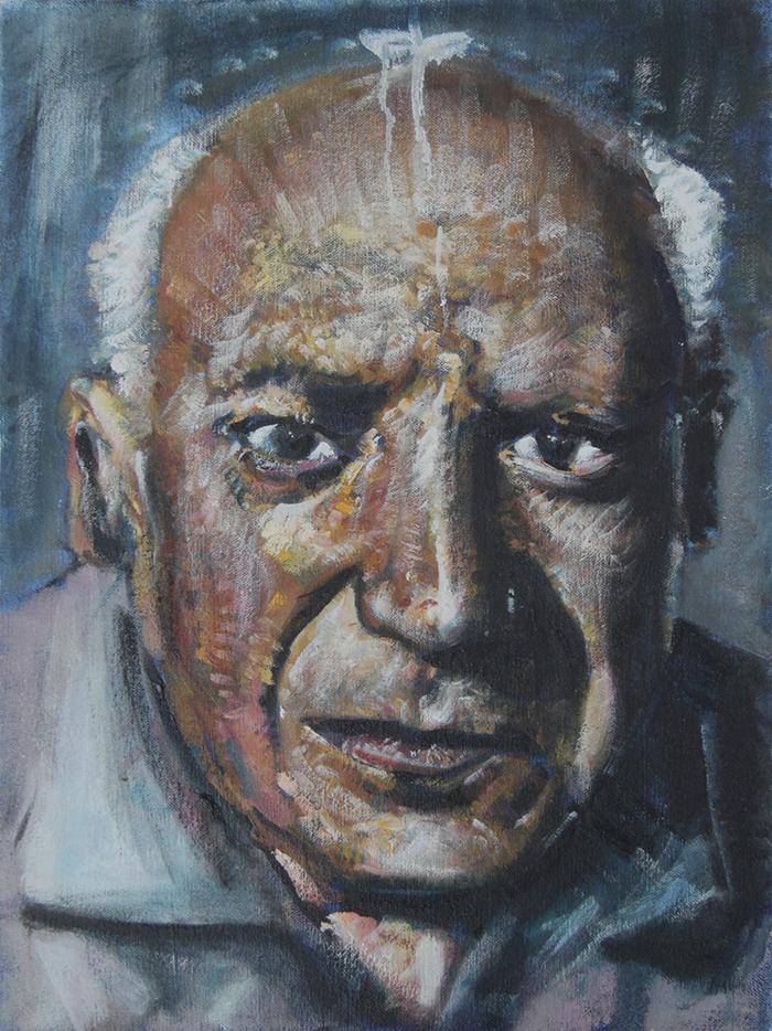 Alex Carletti Visionary Art Pablo Picasso