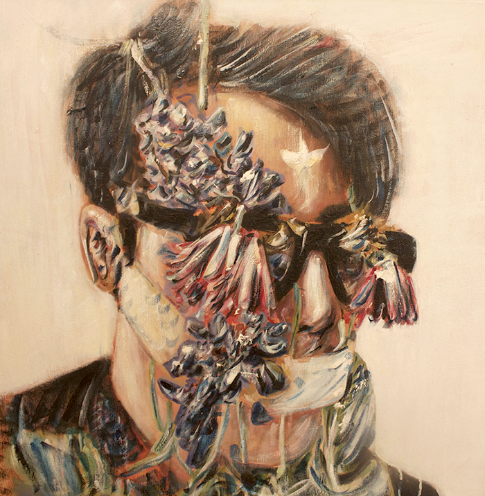 Alex Carletti Visionary Art Self Portrait