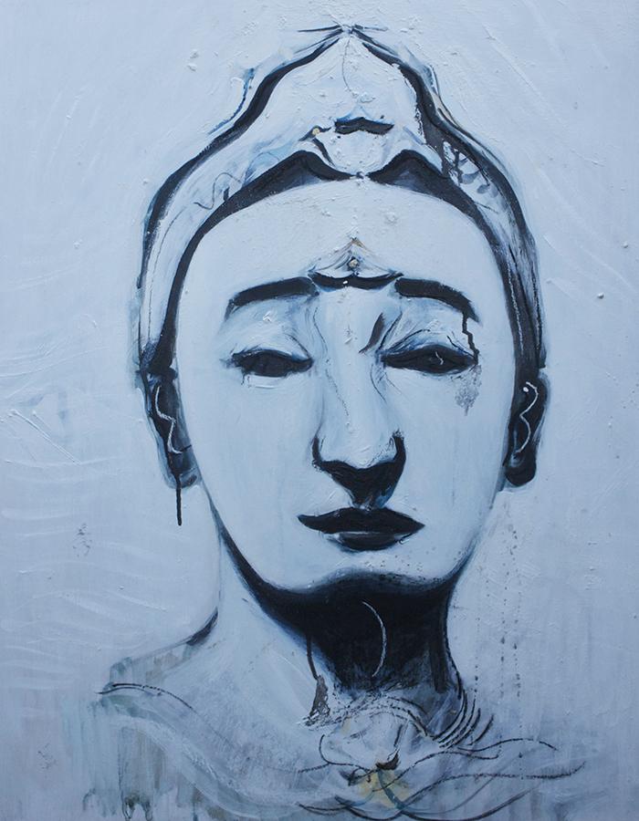 Alex Carletti Visionary Art Buddha