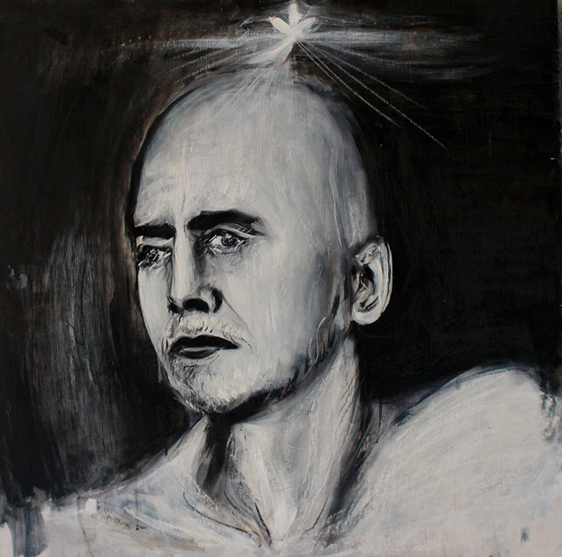 Alex Carletti Visionary Art Ramana Maharshi