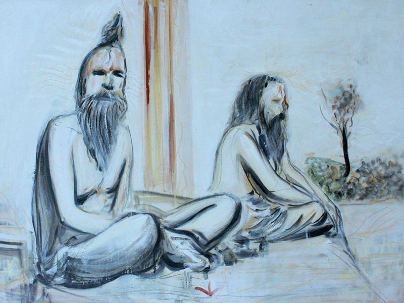 Alex Carletti Visionary Art Sadhus