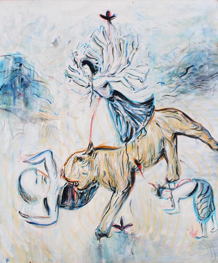 Alex Carletti Visionary Artist Durga