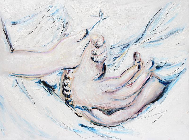 Alex Carletti Visionary Artist Holding Hands