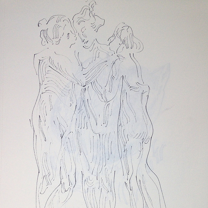 Alex Carletti Visionary Artist Three Graces
