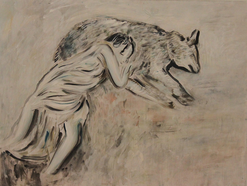 Alex Carletti Visionary Artist Wolf Dreams