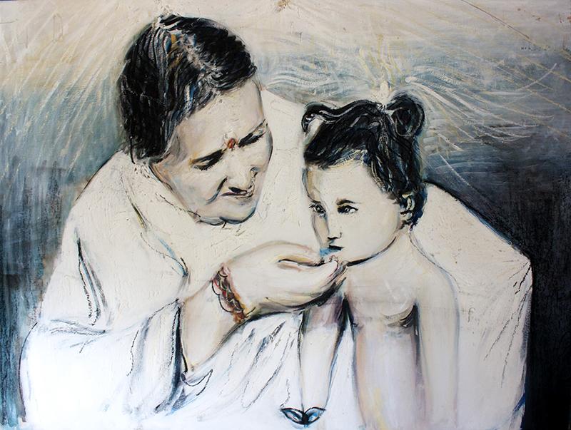 Alex Carletti Visionary Artist Amma Blessing