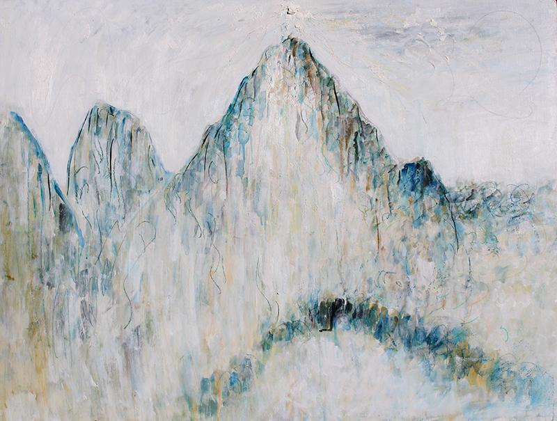 Alex Carletti Visionary Artist Cosmic Mountain