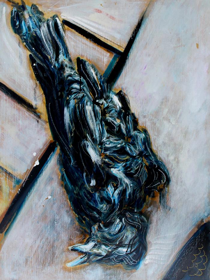 Alex Carletti Visionary Artist Bird Recline