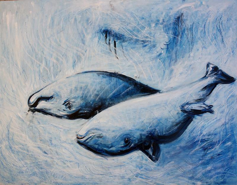 Alex Carletti Visionary Artist Whale dreaming