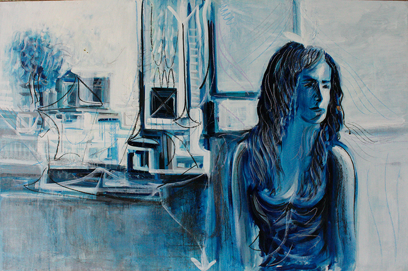 Alex Carletti Visionary Artist Blue Muse