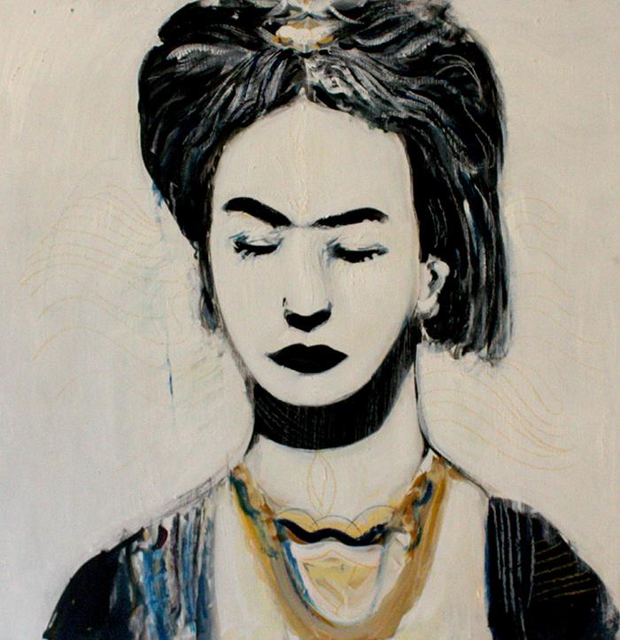 Alex Carletti Visionary Artist Frida Kahlo