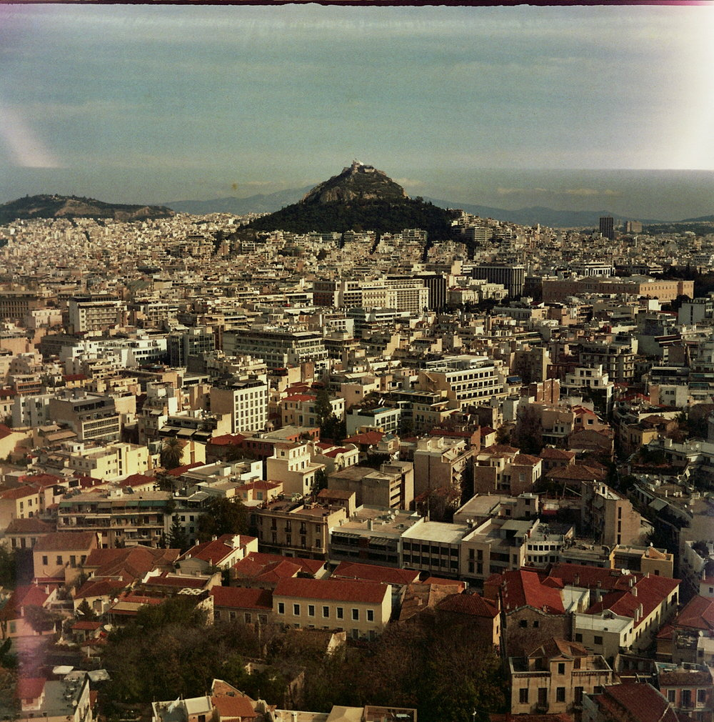 Look out over athens