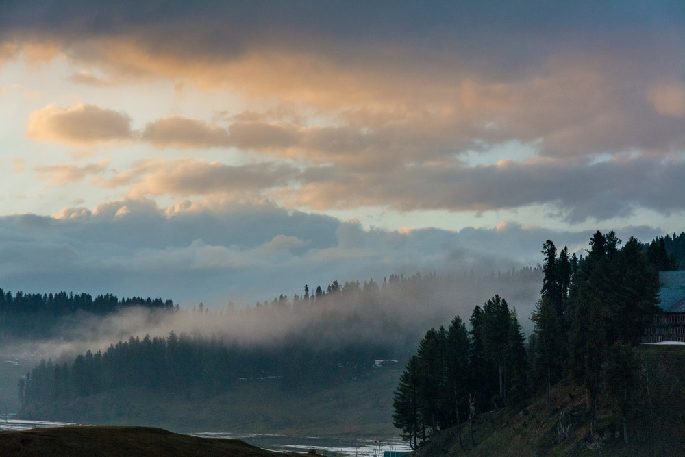 Sunset In Gulmarg