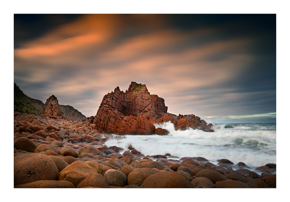 The pinnacles, Cape Woolomai, Phillip Island, Victoria, Australia.