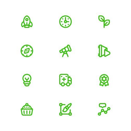 Playlist Theme icons for HelpU