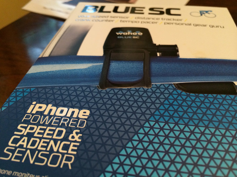 Blue SC Speed and Cadence Sensor from MEC