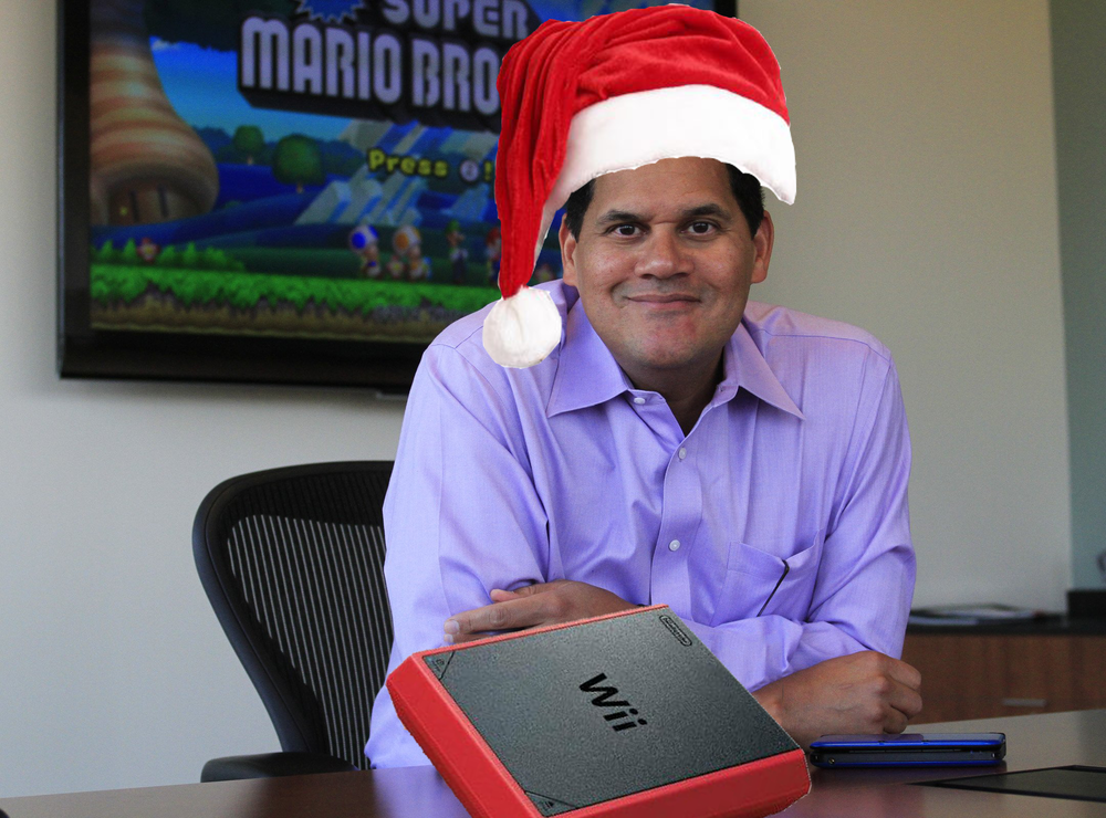 Reggie just wants kids to have a good Christmas. Is that so wrong?