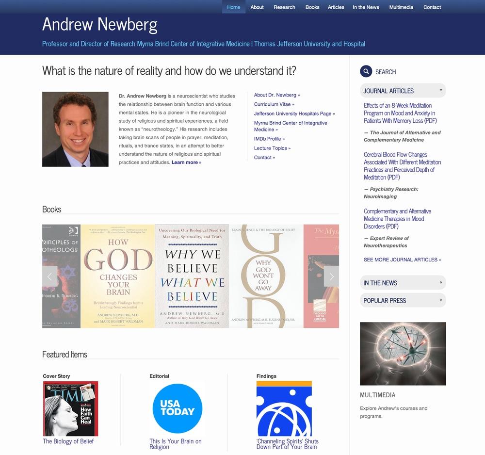 Visit Andrew's ScienceSite