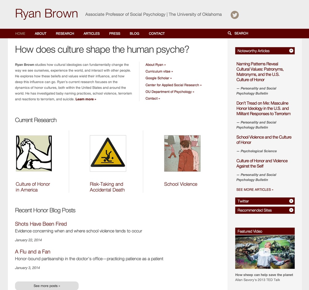 Visit Ryan's ScienceSite