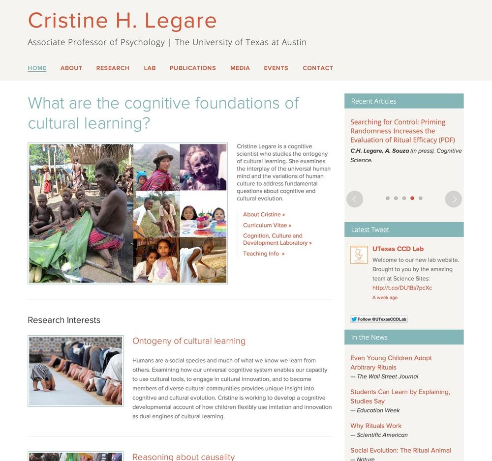 Visit Cristine's ScienceSite