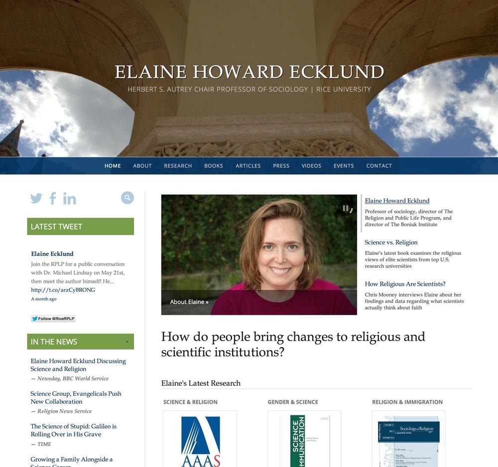 Visit Elaine's ScienceSite