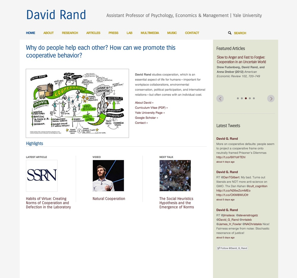 Visit David's ScienceSite