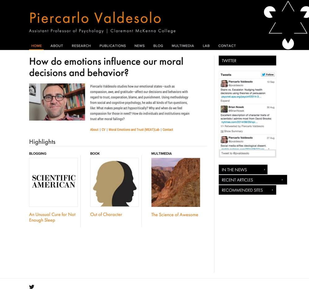 Visit Piercarlo's ScienceSite »