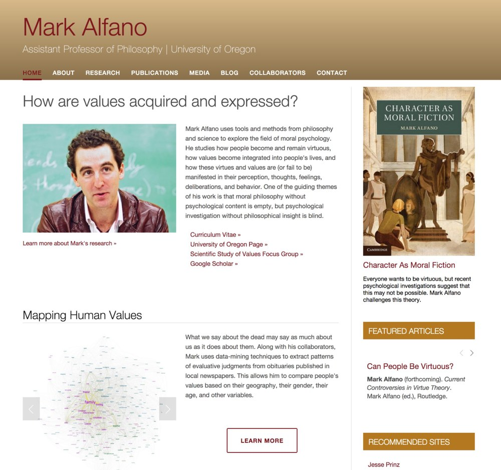 Visit Mark's ScienceSite »