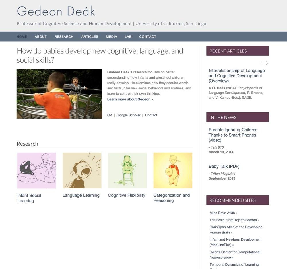 Visit Gedeon's ScienceSite