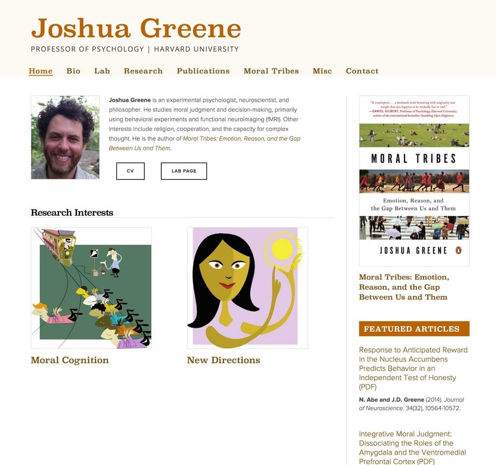 Visit Joshua's ScienceSite
