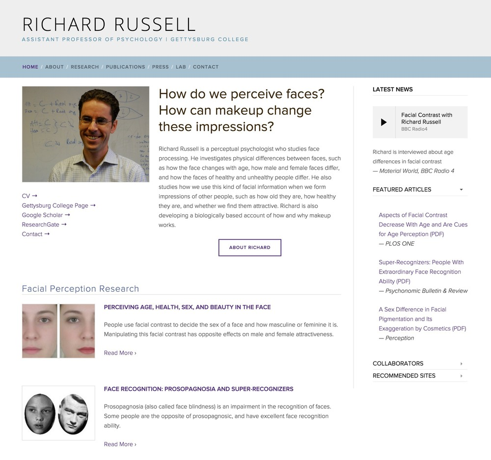 Visit Richard's Science Site