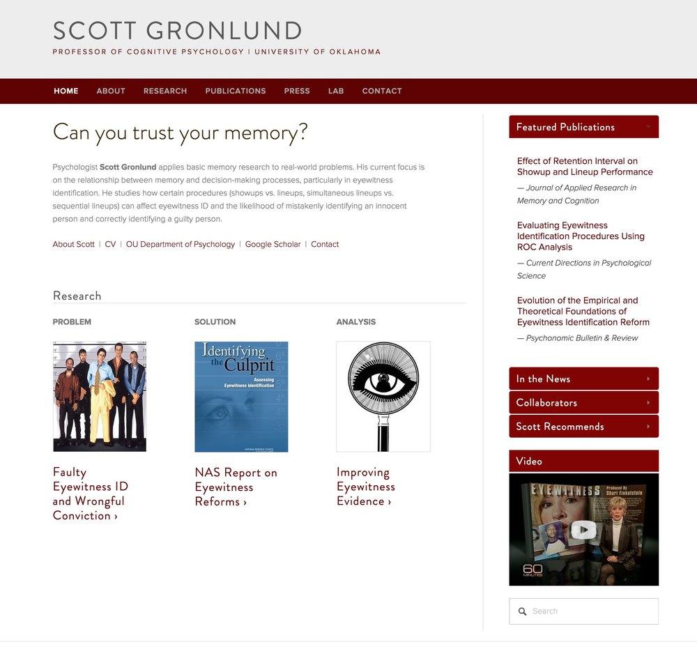 Visit Scott's Science Site