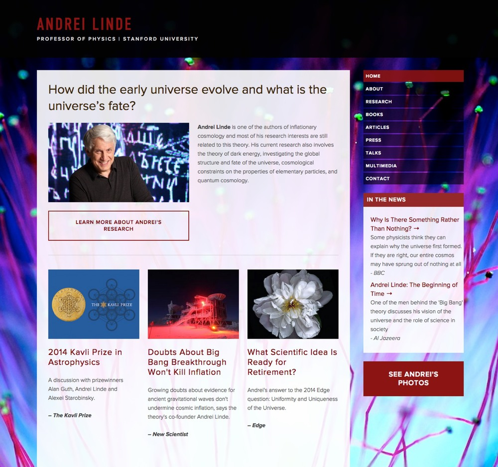 Visit Andrei's Science Site