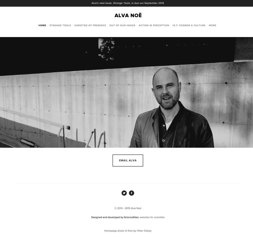 Visit Alva's ScienceSite