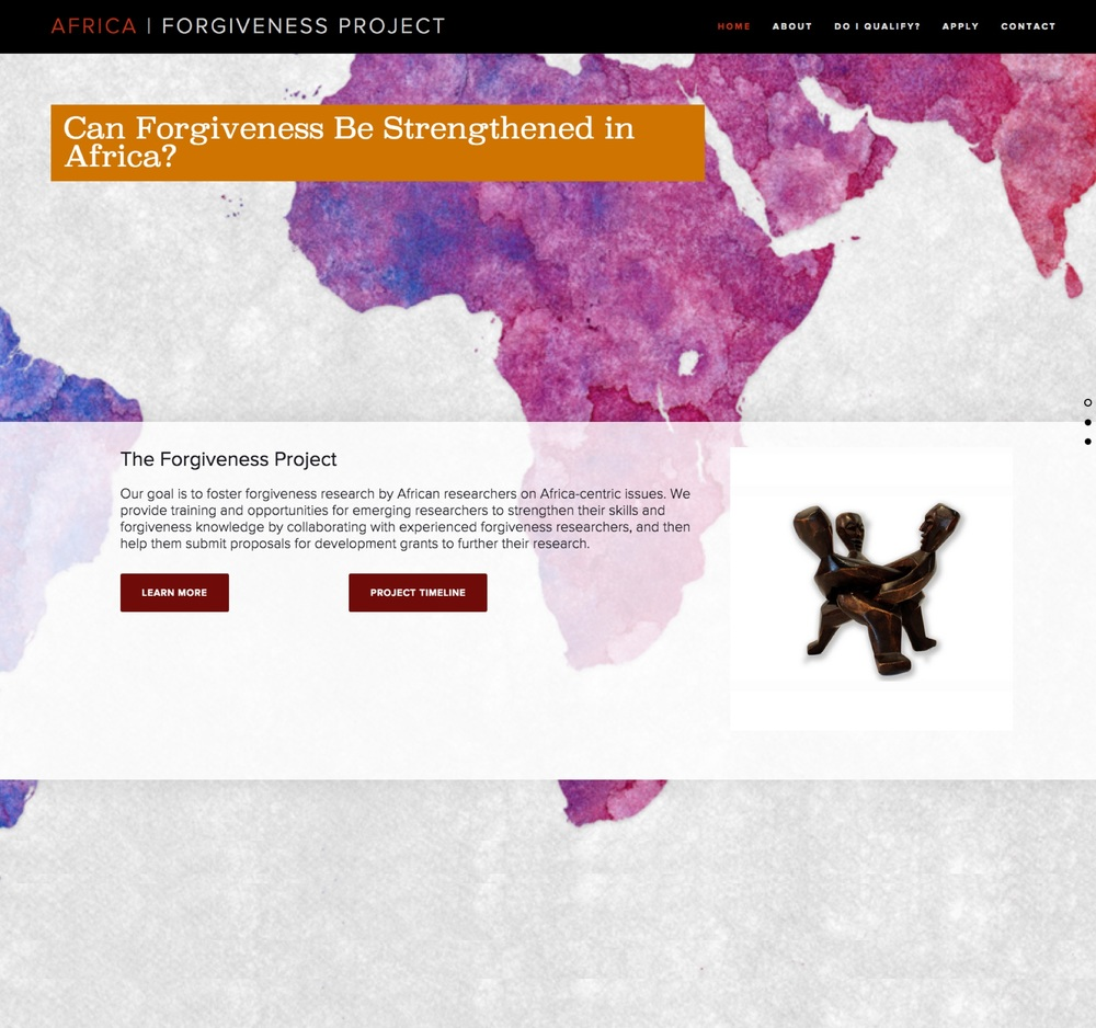 Visit the Africa Forgiveness Project ScienceSite