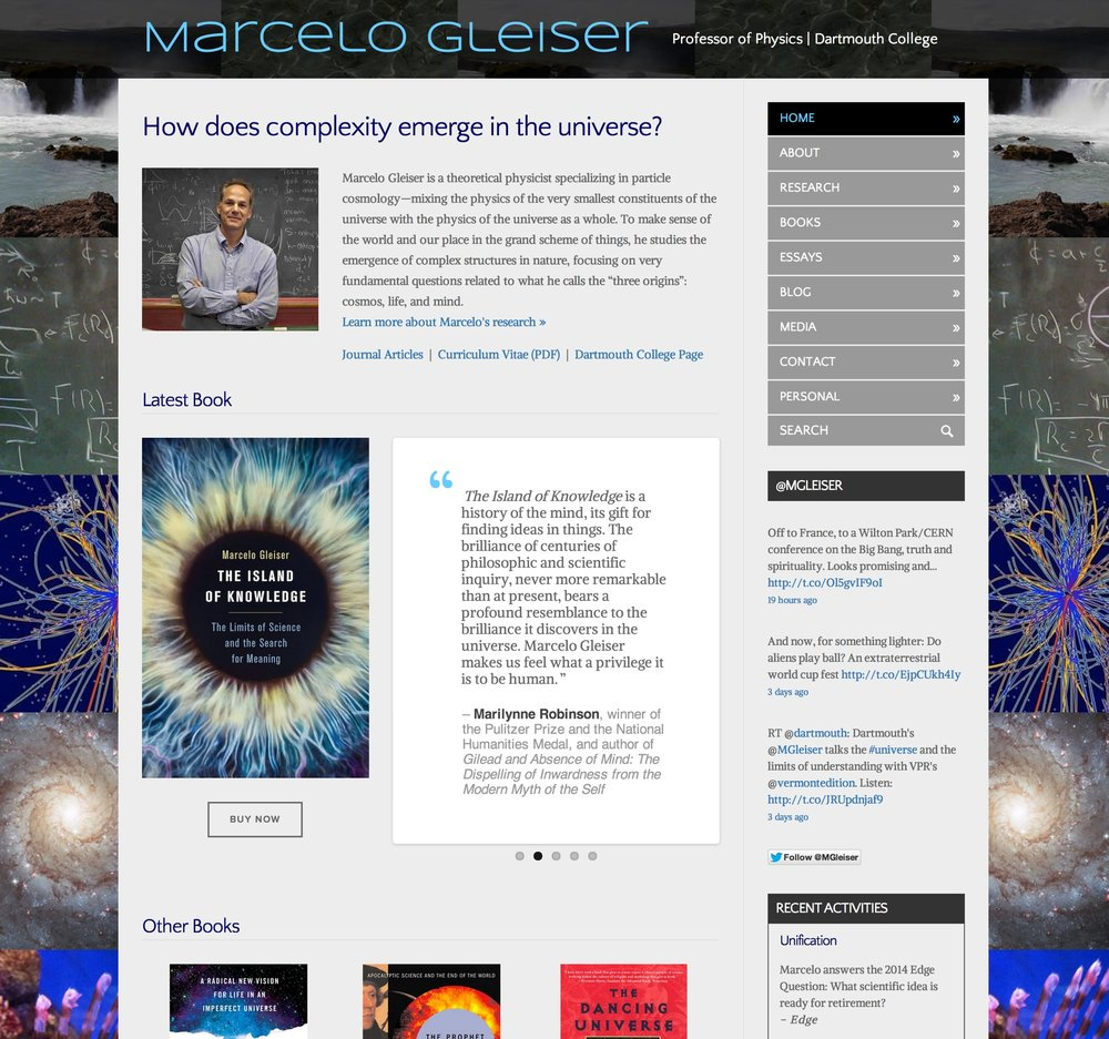 Visit Marcelo's ScienceSite