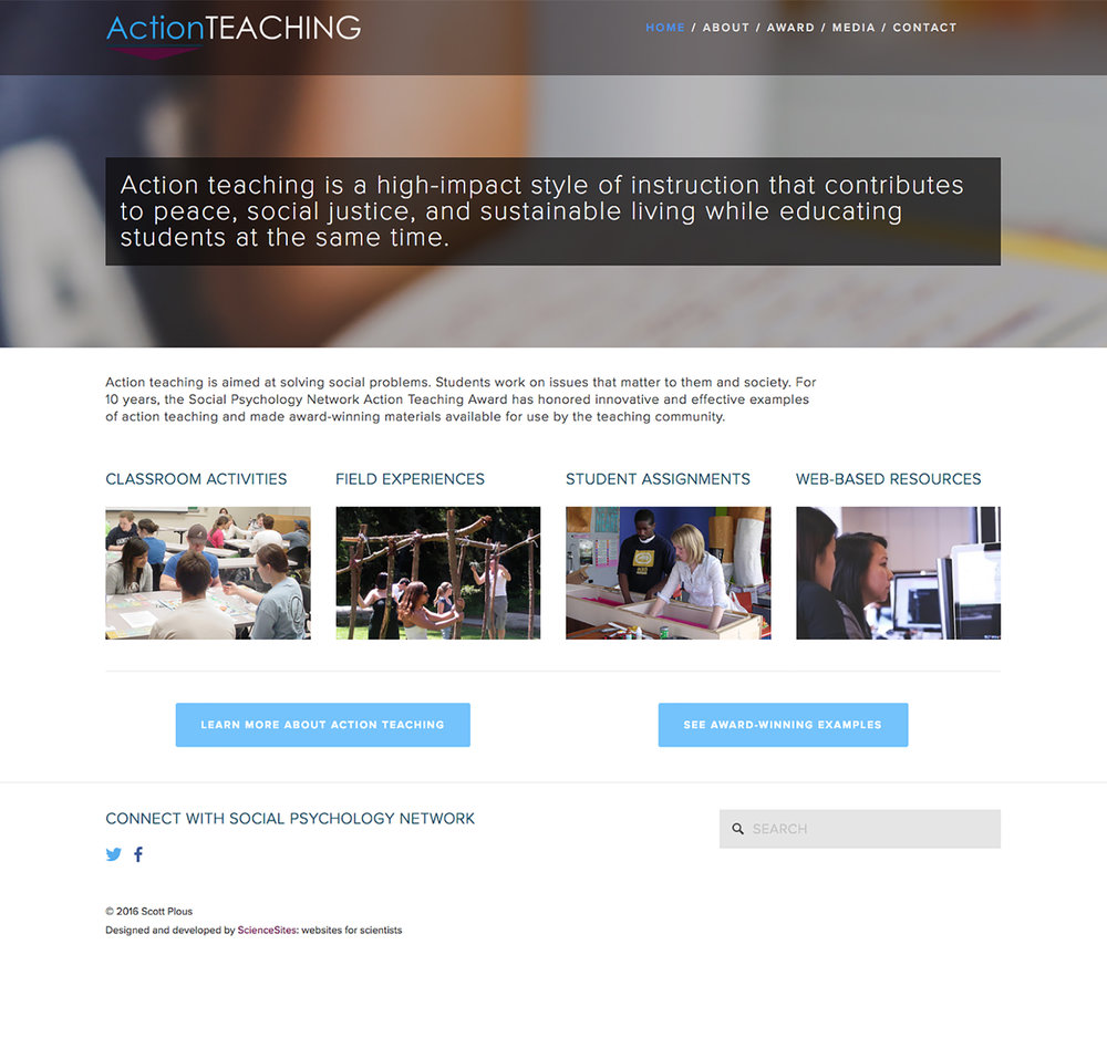 Visit the Action-Teaching ScienceSite