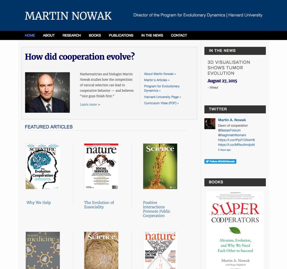 Visit Martin's ScienceSite