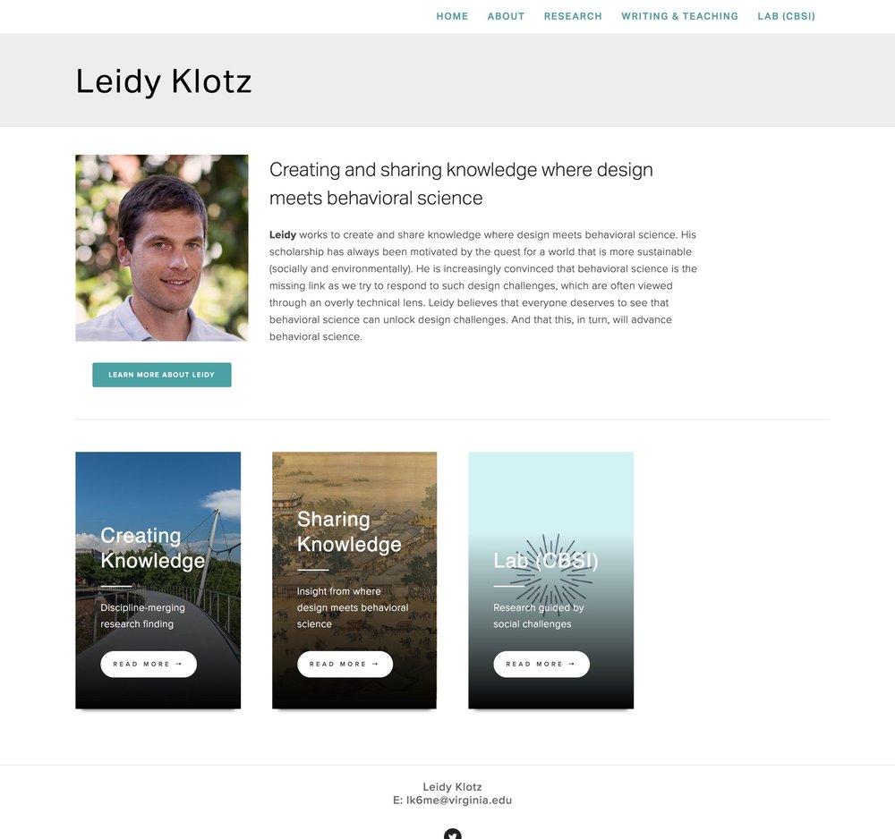 Visit Leidy's ScienceSite