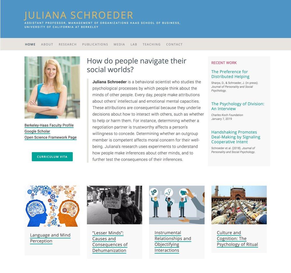 Visit Juliana's ScienceSite