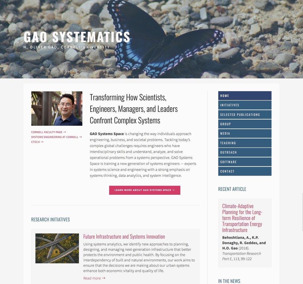 Visit Oliver's ScienceSite