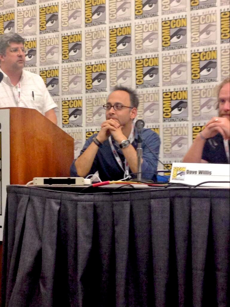 Superjail panel (with Aqua Teen's Dave Willis)
