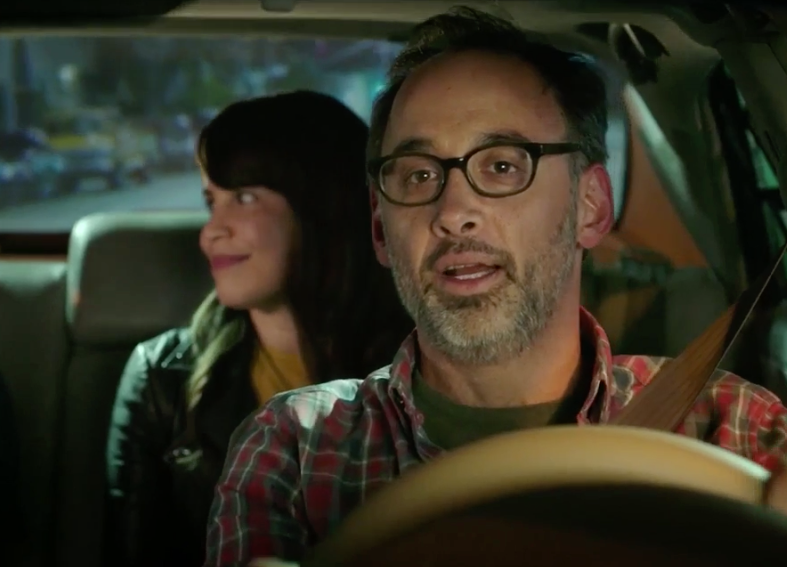 Here I am on the new series DRIVE SHARE!