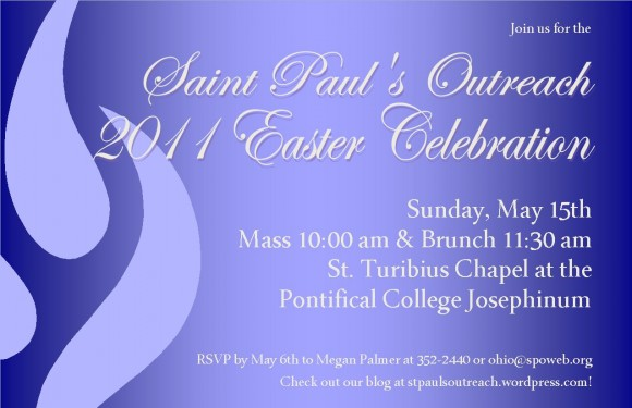 easter celebration invitation