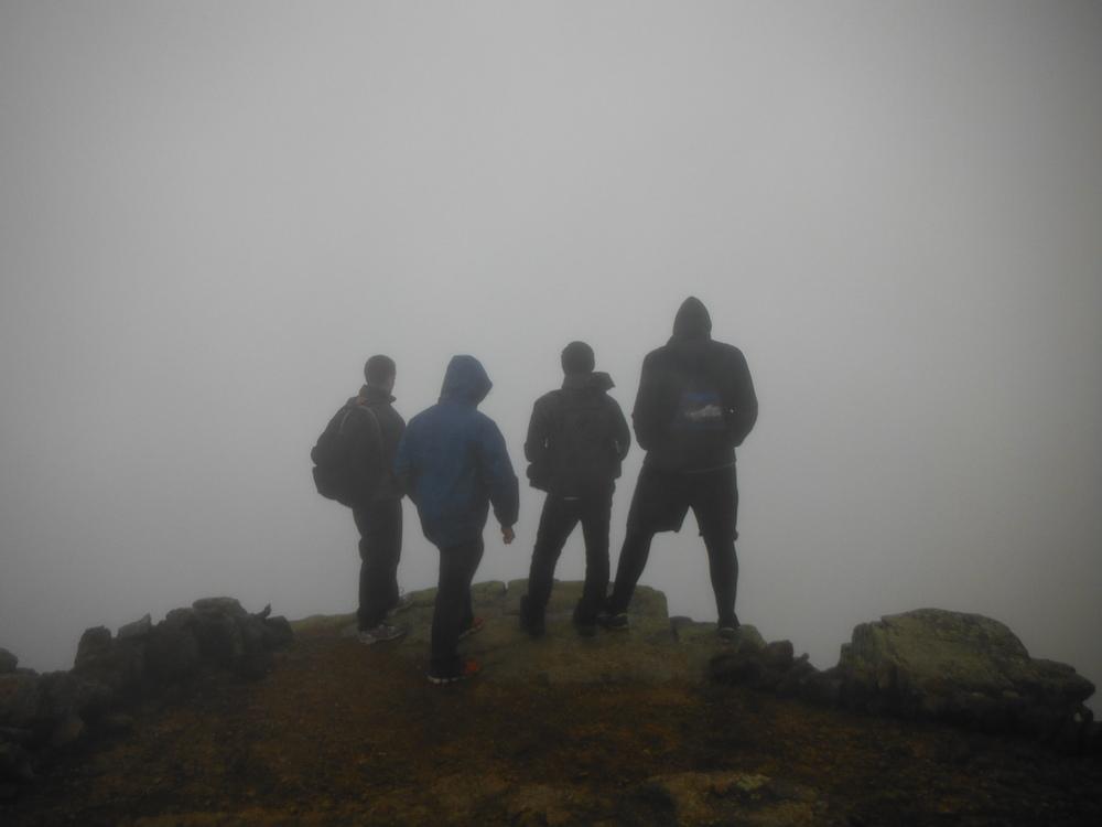 Men Take on the Mountains