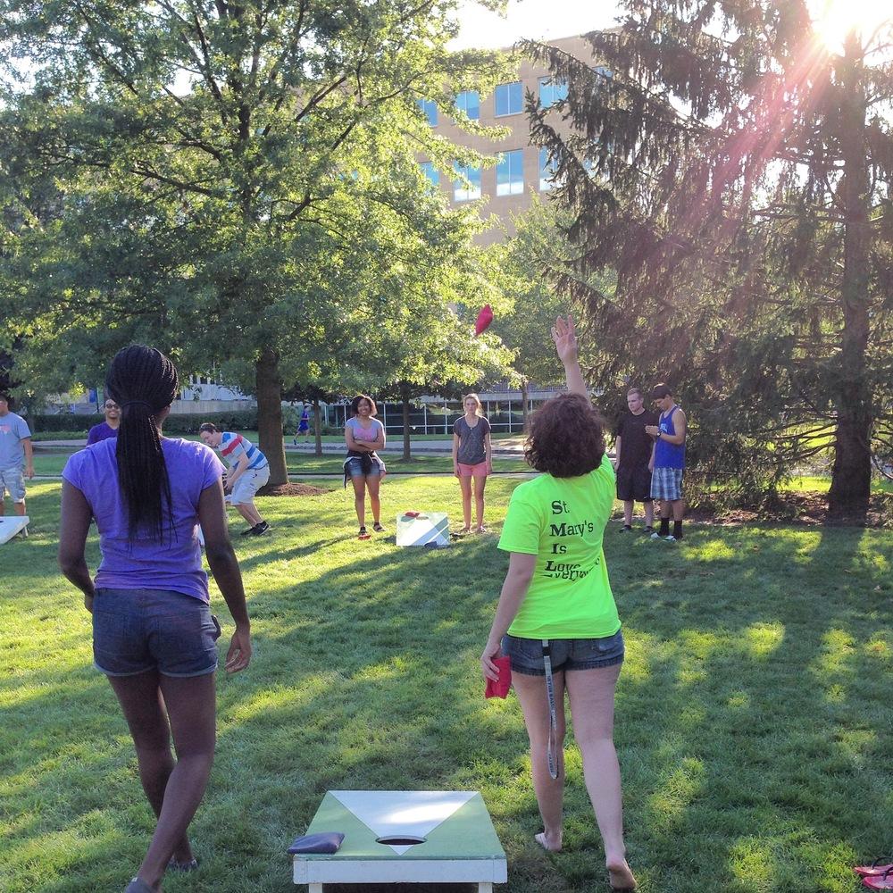 Annual Cornhole Tournament